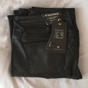 Never worn ladies Vigoas black jeans